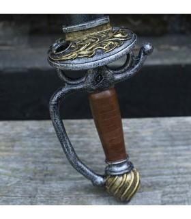 Espada lazo Renacentista látex, 85 cms.