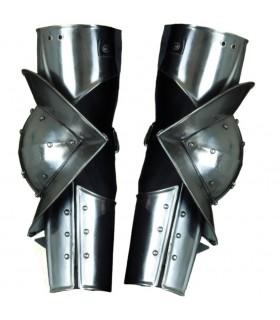 Brazos articulados armadura medieval gótica