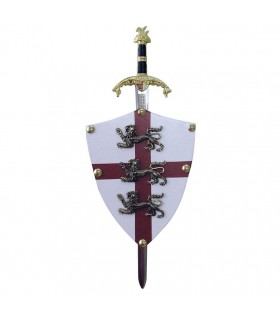 Mini-escudo Ricardo Corazón (11x14,5 cms.)