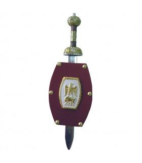 Mini-escudo Romano (11x14,5 cms.)