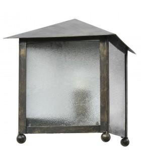 Aplique triangular forja con cristal