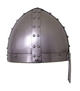 Casco vikingo Spangenhelm funcional