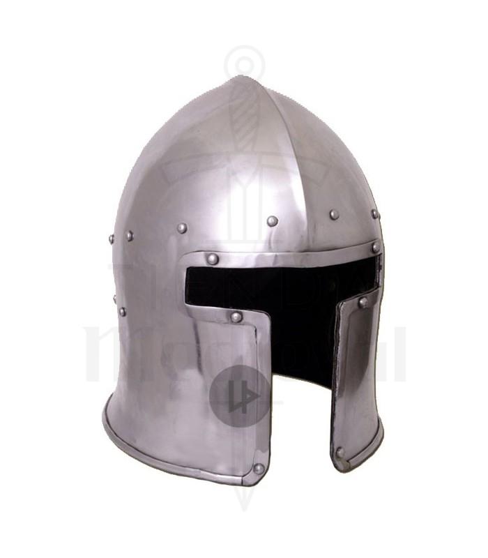 Barbuta italiana funcional, año 1440