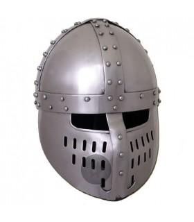 Casco Norman Spangen, año 1180