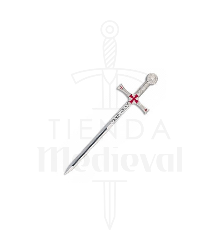 Mini Espada templaria, 17,4 cms.