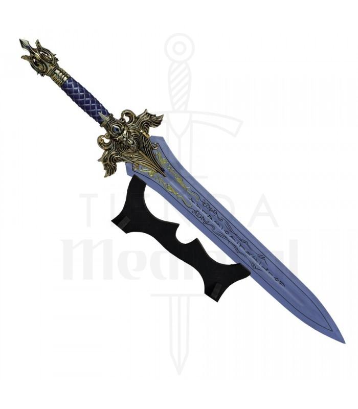 Espada Rey King Llane de Warcraft, 75 cms.