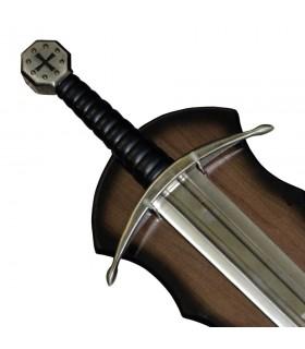 Espada templarios con soporte