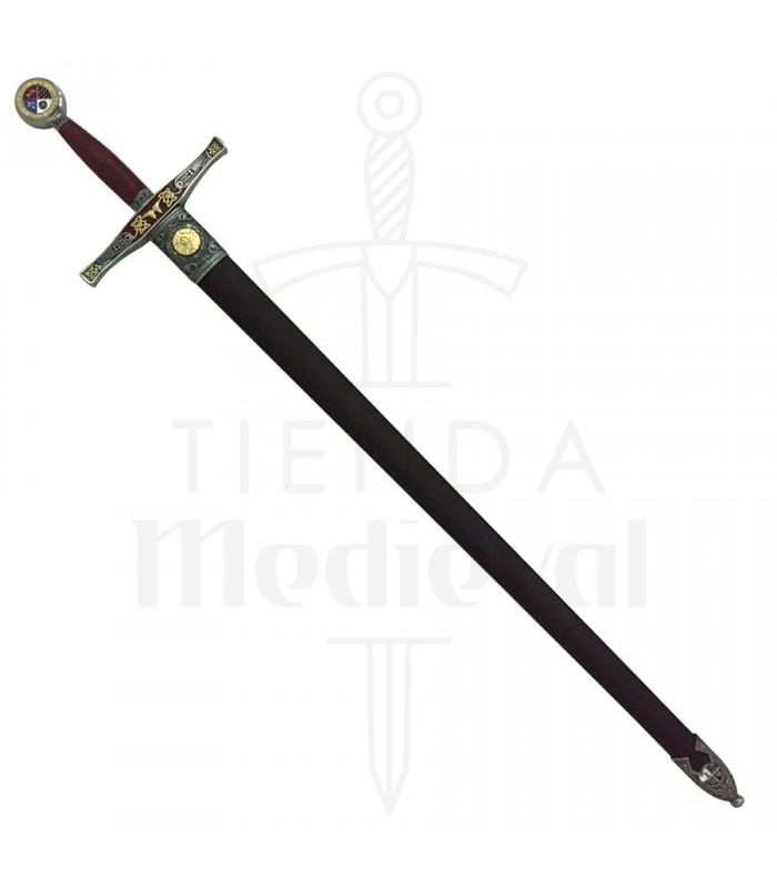 Espada Excalibur decorada