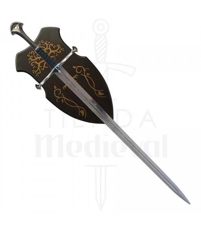 Espada fantástica con soporte (133 cms.)