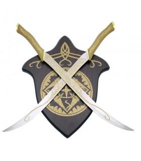 Cuchillos Elfos con soporte