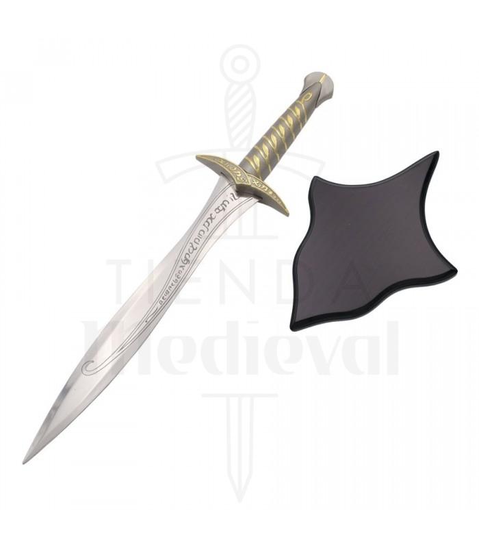 Cuchillo fantástico con soporte para colgar