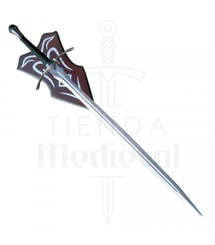 Espada fantástica con soporte (117,5 cms.)