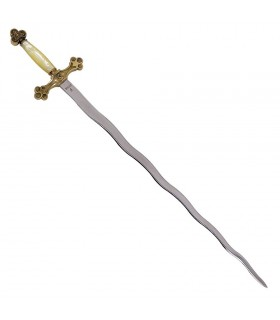 Espada Logia Masónica flamígera