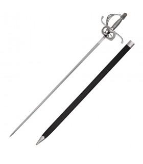 Espada Rapiera de lazo del Renacimiento