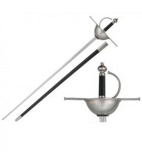 Espada Rapiera Cazoleta para prácticas
