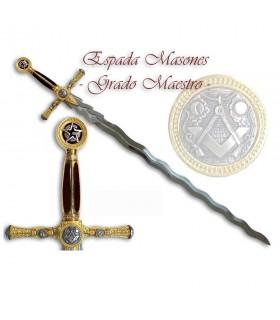 Espada Masones.- Grado de Maestro