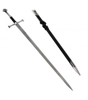 Fantastisches Schwert mit Scheide (109 cm.)