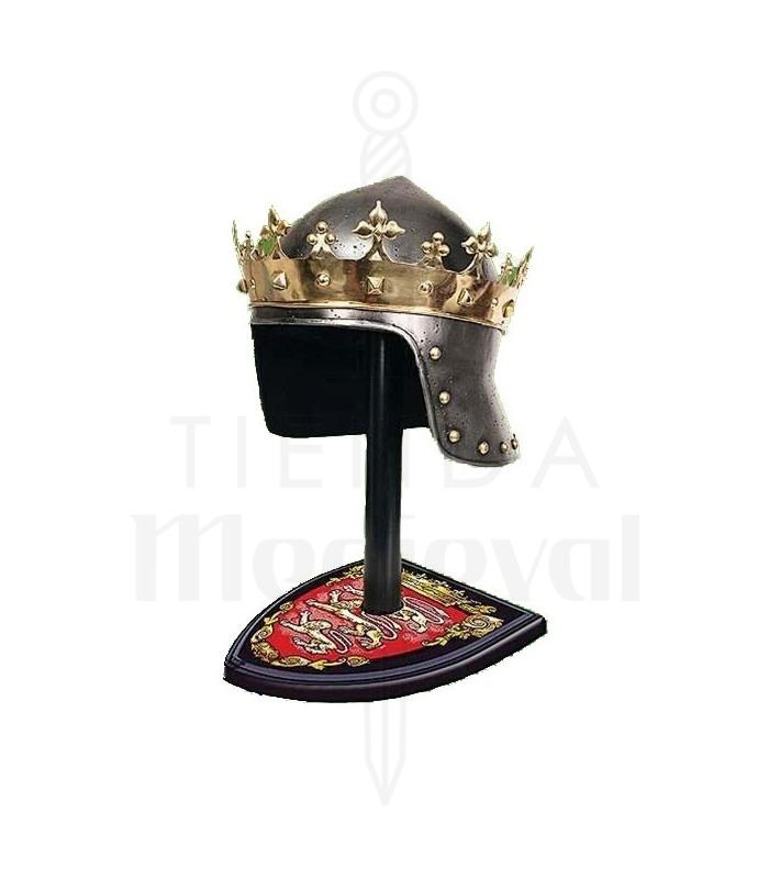 Corona Rey Medieval En Latón Sombreros Gorros Complementos Tienda