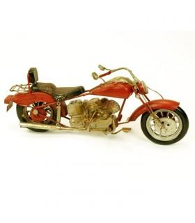 Miniatura moto antigua Chopper