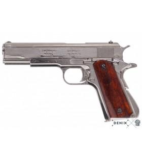 Pistola automática M1911 plata, USA, 1911