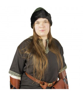 Gorro Vikingo Ulf Verde