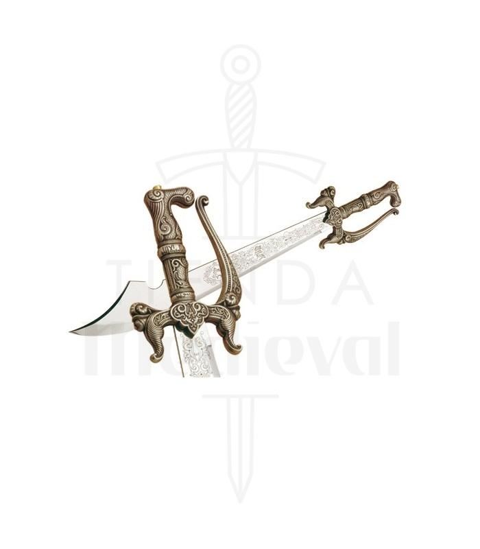 Espada Alfange en Plata