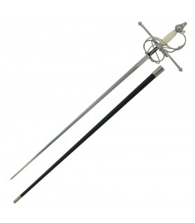 Rapier Schwert, Faust Knochen