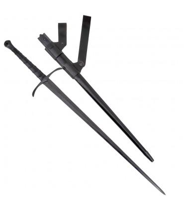 Espada Bosworth larga de combate, afilada