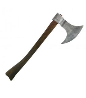 Hacha de cazador medieval