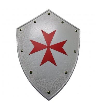 Escudo Templario cruz de Malta