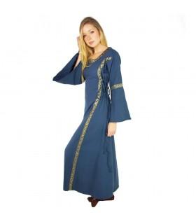 Vestido medieval mujer Azul