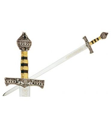 Espada de Barbarroja en Plata