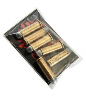 Set 6 balas para revólver 45. USA 1880