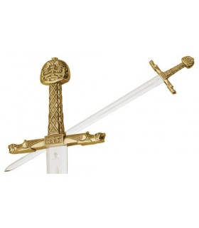 Espada de Carlomagno en Bronce