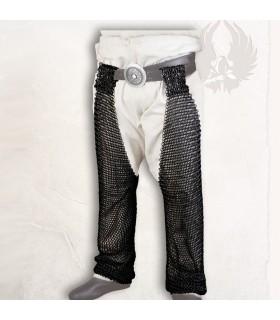 Mittelalterliche Beine Kettenhemd