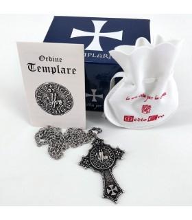 Colgante cruz Caballeros del Temple