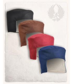 Sombrero medieval Cap marrón