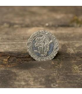 Set 200 monedas medievales León plateadas