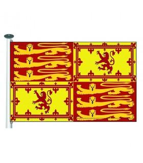 Bandera medieval Ricardo Corazón de León