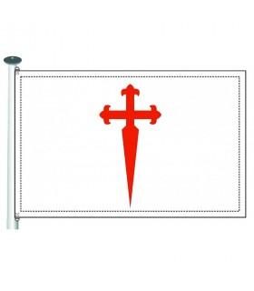 Bandera Orden de Santiago
