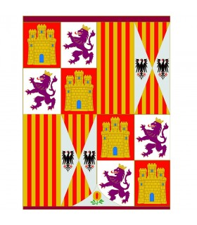 Standard-Wappen katholische Monarchen