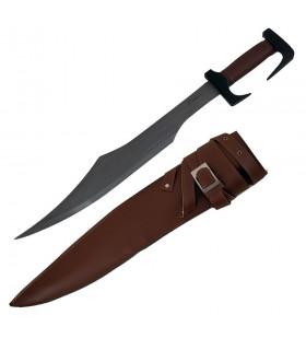 Espada Espartana con vaina y cinturón