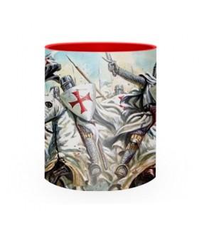 Taza de Cerámica lucha Caballeros Templarios