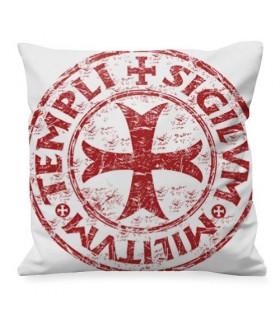 Cojín medieval Cruz-Escudo Templarios