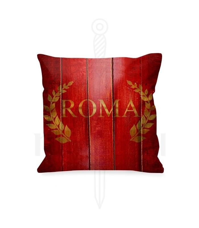 Cojín Roma con corona laureles