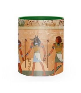 Taza Cerámica faraones y Dioses egipcios
