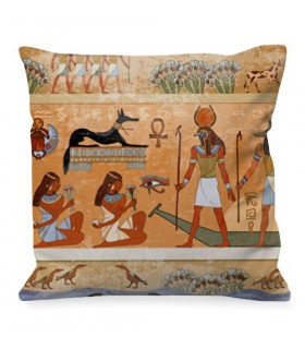Cojín con Faraones y Dioses Egipcios