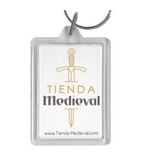 Llavero de metacrilato Tienda-Medieval