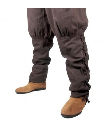 Pantalones vikingos cordones