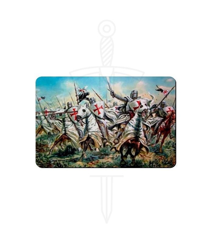 Imán lucha Caballeros Templarios